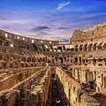 From The Floor Of The Colosseum by Mike Houghton BlueMaxPhotography