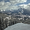 From The Norquay Slopes To The Peak Of Rundle by Adam Jewell