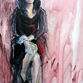 from the Red Tent series too by Jodie Marie Anne Richardson Traugott          aka jm-ART