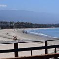 From The Santa Barbara Pier by Randal Higby