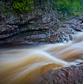 From The Top Of Temperence River Gorge by Rikk Flohr