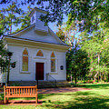 Front Of A Small Church by TJ Baccari