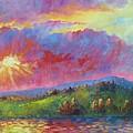 Front Range Sunset by David G Paul