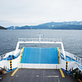 Front Side Of A Ferry  by Newnow Photography By Vera Cepic