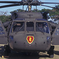 Front View Of An Army Hh-60 Pave Hawk by Michael Wood