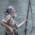 Frontiersman Face Of Time by Randy Steele