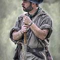 Frontiersman Ranger Scout Portrait by Randy Steele
