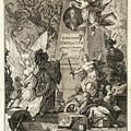 Frontis To Tractatio De Theoria Descensus Et Ascensus Gravium Obliqui Ejusque Multiplici Application by Joseph Anton Zimermann