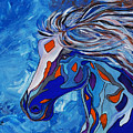 Frost Abstract Horse by Janice Pariza