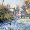 Frost by Claude Monet