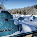 Frosted Paddleboats by Jim Love