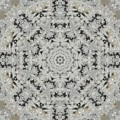 Frosty Lace Doily by M E Cieplinski