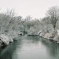 Frosty River by Lauri Novak