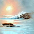 Frosty Seas by Sally Seago