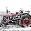 Frosty Tractor by David M Porter