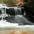 Frozen Creation Falls by Amanda Kiplinger