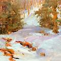 Frozen Creek by Peggy Kingsbury