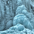 Frozen Falls Along The Icefields Parkway by Adam Jewell