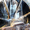 Frozen - John P. Cable Grist Mill by Roe Rader