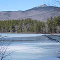 Frozen Lake Chocorua by Catherine Gagne