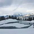 Frozen Lake by Kelly Foreman