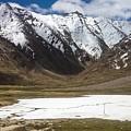 Frozen Lake by Vartika Singh