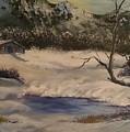 Frozen Lake by Zoraida Cortes