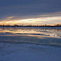 Frozen River by Cristina Stefan