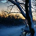 Frozen River by  Jaroslaw Grudzinski