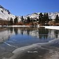 Frozen Sierra Lake by Duane Middlebusher
