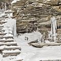 Frozen Stairs by Eduardo Gil