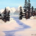 Frozen Tranquility by Barbara Griffin