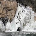 Frozen Waterfall 2646 A by Captain Debbie Ritter