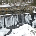 Frozen Waterfall by Charles HALL