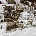 Frozen Waterfall by Ty Shults
