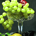 Fruit And Crystal. by George and Sally Stevenson