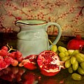Fruit And Pitcher by Carlene Smith