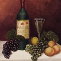 Fruit And Wine  B by Helen Thomas