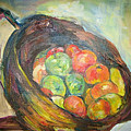 Fruit Basket And Wine by Impressionist FineArtist Tucker Demps Collection