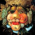 Fruit Basket by Giuseppe Arcimboldo