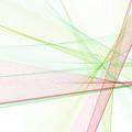 Fruit Computer Graphic Line Pattern by Frank Ramspott