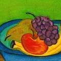 Fruit In Bowl by Katina Cote