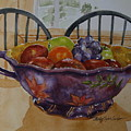 Fruit On The Table by Shirley Sykes Bracken