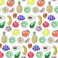 Fruit Pattern  by Katerina Kirilova