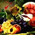 Fruit Still-life Catus 1 No. 1 H A by Gert J Rheeders