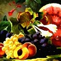 Fruit Still-life Catus 1 No 1 H B by Gert J Rheeders