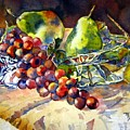 Fruit Still Life by Marilyn Bishop