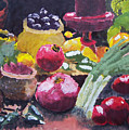 Fruit Still Life by Tammy Dunn