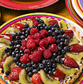 Fruit Tart Pie by Garry Gay