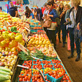 Fruits And Vegetables - Pike Place Market by Nikolyn McDonald